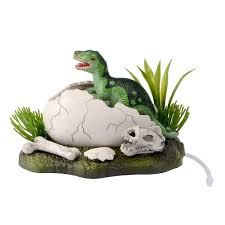 resin castle aquariums decorations born broken shell dinosaur air