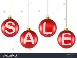 hanging decoration balls sale stock vector 229246909
