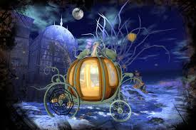Pumpkin Carriage Second Life Marketplace Boudoir Pumpkin Carriage
