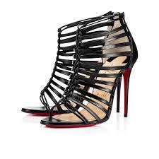 christian louboutin milla leather black louboutin shoes