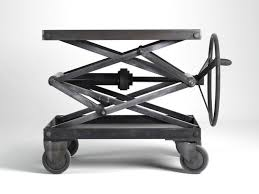 industrial scissor lift table 3d cgtrader
