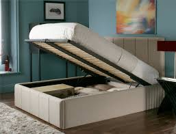 Upholstered Ottoman Storage Bed by Accessories 20 Top Designs Of Do It Yourself Bed Frame Risers