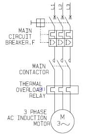 a how to guide for the power circuit of a 3 phase direct on line