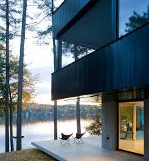 cantilever house exterior contemporary with steps concrete fire