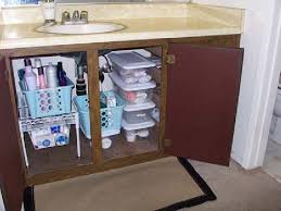 bathroom sink organizer ideas under sink storage super smart ways to organize the space under