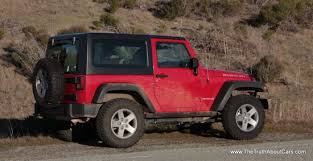 jeep wrangler 2 door hardtop lifted review 2012 jeep wrangler rubicon the truth about cars