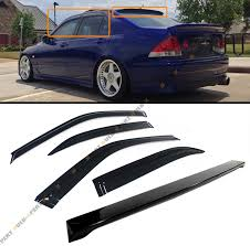 lexus is300 for sale brunei for 2001 05 lexus is300 glossy black rear roof spoiler wing
