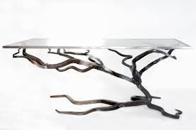 wrought iron coffee table with glass top created by oak hill iron iron ology pinterest iron create and