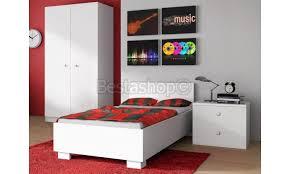 chambre enfants complete chambre enfant complète contemporaine blanche pas cher