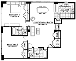 residential floor plans waters place condominiums culpeper virginia