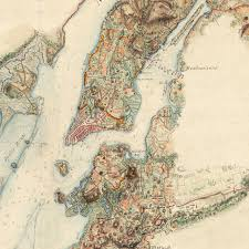 Us New York Map by New York 1776 1777 Ny Campaign Revolutionary War Hq Map