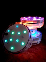 Submersible Led Light Centerpieces by Submersible Led Waterproof Floral Flower Vase Light Base Discs W