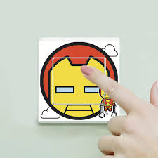 qt 0241 cartoon spiderman avenger switch stickers for children s qt 0241 cartoon spiderman avenger switch stickers for children s rooms wall stickers for kids rooms wall art home decor wall decal quotes wall decal sale