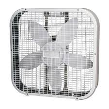 white fans hbf2010awm 20 white 3 speed box fan home