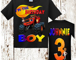 blaze birthday shirt etsy