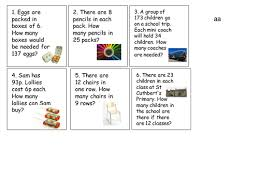 division word problems differentiated by robfarmer teaching