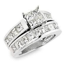 Princess Cut Wedding Ring by Princess Cut Diamond Wedding Rings Rikof Com