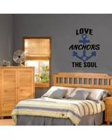 Love Anchors The Soul Wall - big deal on all becaue two people fell in love quote wall decal