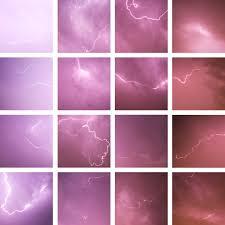 red sky dark blue purple lightning last night grid minnesota