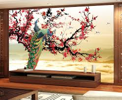 3d peacock flowers 25 wall paper wall print decal wall deco 3d peacock flowers 25 wall paper wall print decal wall deco indoor wall murals