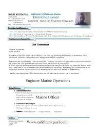 English Resume Sample by Cv Barki Mustapha English