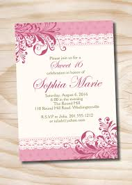 How To Make Your Own Resume Quinceanera Invitation Templates Plumegiant Com