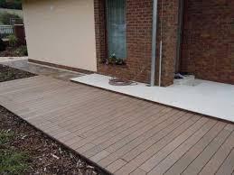 Wood Patio Flooring by Pvc Wood Outdoor Flooring Kuching Youtube