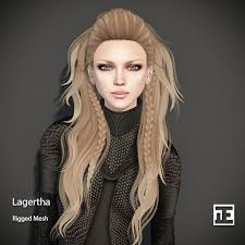 lagertha hair styles second life marketplace truth hair lagertha mesh hair demo