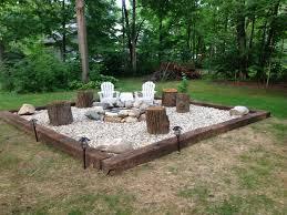 Firepit Rock Brilliant Backyard Rock Pit Ideas Pit On Pinterest
