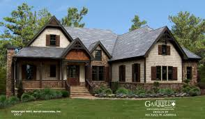 garrell associates inc big mountain lodge house plan 07012