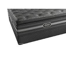 beautyrest black natasha plush pillowtop king mattress raymour