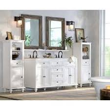 Home Decorators Linen Cabinet Home Decorators Collection Newport 61 In Vanity In White With