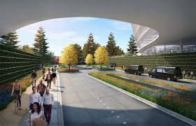 apple is planning for a second spaceship style campus business