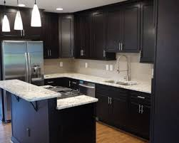 kitchen design ideas dark cabinets with goodly the designs for