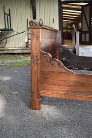 Antique Sleigh Bed Rosewood Sleigh Bed Neoclassical American Gates Antiques Ltd