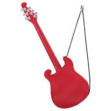 2017 santa claus is comin to town guitar hallmark magic ornament