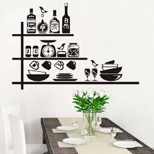 Dining Room Decals Online Get Cheap Spices Wall Decals Aliexpress Com Alibaba Group