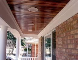 hardie smooth panel w hardie crown porch ceilings pinterest