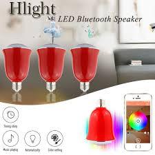 Led Light Bulb Speaker Hlight H1002 Smart E27 E26 Bulb Speaker 15 77 Online Shopping
