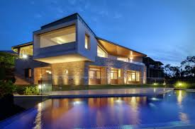Modern House by Modern Houses Wallpaper Backgrounds