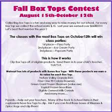 box tops for education contest flyer google search box tops