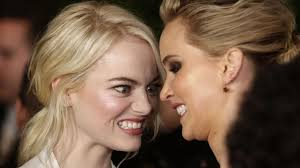 emma stone and jennifer lawrence friends jennifer lawrence was almost emma stone s golden globes party date
