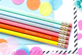 Desk Accessory Set by Don U0027t Forget To Be Awesome Pencil Set Set Of 6 Hex
