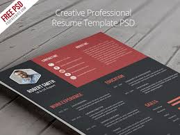 Free Colorful Resume Templates 42 Impeccable Resume Templates Word Psd Indd Ai Download