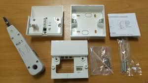 telephone wall socket wiring diagram efcaviation com