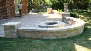 Stamped Concrete Backyard Ideas by Patio Walls Nice Patio Ideas On Stamped Concrete Patio Home