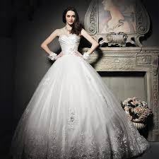 Princess Wedding Dresses Vintage Lace Princess Wedding Dress With Sweetheart Neckline