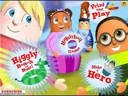 higgly town heroes song game menu walkthrough kids games