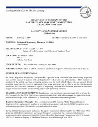 exle of registered resume respiratory therapist sle description resume unique cover