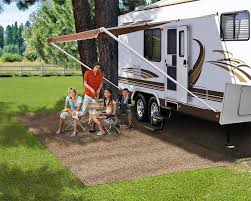 Outdoor Rv Rugs by Amazon Com Prest O Fit 2 0171 Patio Rug Brown 8 Ft X 20 Ft